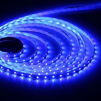 Светодиодная лента 3528 60 IP20 (открытая) 12V 4.8 Вт/м Синяя