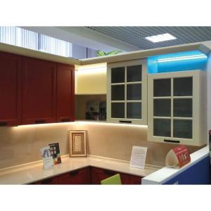"""Подсветка образца кухни в """"Мебель-Холл"""""""