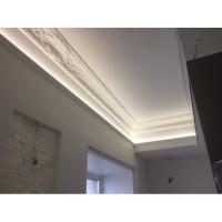 Подсветка потолка в мини-отеле в Щербаковом переулке
