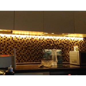 Подсветка кухни в частном доме на Приозерском шоссе