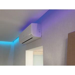RGBW подсветка потолков в квартире
