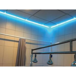 Подсветка потолка в кабинете Hydroderm