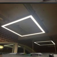 Модульный свет в современном офисе