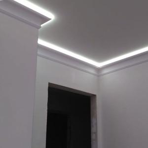 Подсветка потолка в квартире на ул. Ушинского