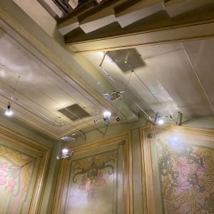 Подсветка парадной в доме в Виленском переулке