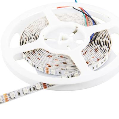 Светодиодная лента RGB 5050 60 IP20 (открытая) 24V 14.4 Вт/м