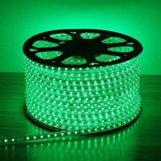 Светодиодная лента 3528 60 IP68 (герметичная) 220V 4.8 Вт/м Зеленая