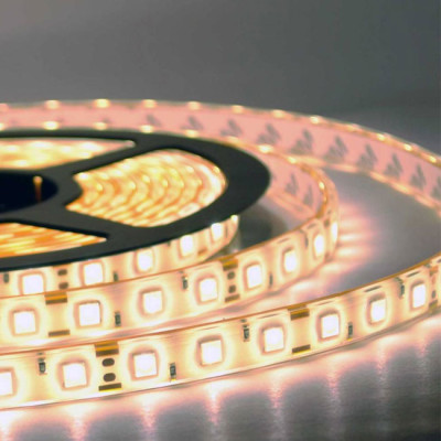 Светодиодная лента 5050 60 IP65 (уличная) 12V 14.4 Вт/м LUX
