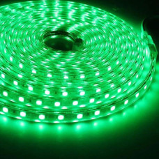 Светодиодная лента 5050 60 IP68 (герметичная) 12V 14.4 Вт/м Зеленая