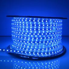 Светодиодная лента 5050 60 IP68 (герметичная) 220V Синяя