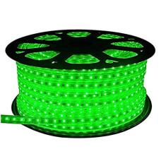 Светодиодная лента 5050 60 IP68 (герметичная) 220V Зеленая