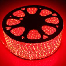 Светодиодная лента 5050 60 IP68 (герметичная) 220V Красная