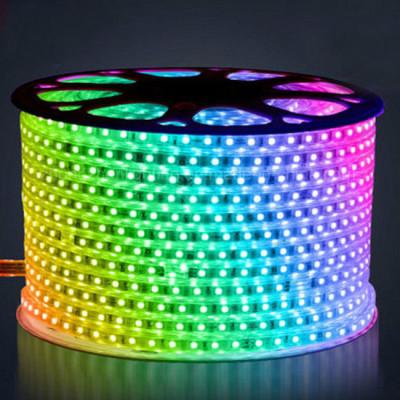 Светодиодная лента RGB 5050 60 IP68 (герметичная) 220V 14.4 Вт/м