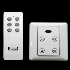 Пульт управления и 10 блоков управления (4 канала на каждый блок, 1500 Вт на канал) - купить