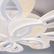 Белый светодиодный led потолочный светильник с пультом управления и тремя режимами работы IP20
