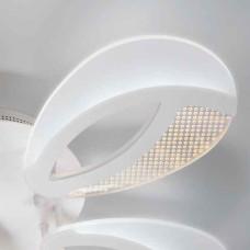 Белый светодиодный led потолочный светильник с пультом управления с тремя режимами работы IP20